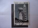 Stamps Israel -  Koffler Tower - del Centro Canadiense de Fisica Nuclear - (S/647 y Mi/781)