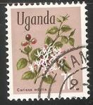 Sellos del Mundo : Africa : Uganda : Carissa edulis