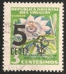 Sellos de America - Uruguay -  Pasionaria