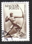 Stamps Hungary -  Arquero por Zsigmond Kisfaludy - Strobl