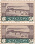 Stamps Morocco -  ferrocarril