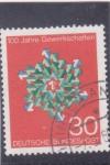 Stamps Germany -  100 aniv.sindicato del trabajador