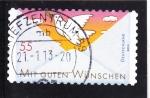 Sellos de Europa - Alemania -  sobre y paloma de la Paz