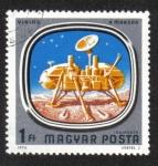Sellos de Europa - Hungría -  Investigación Espacial ( 1976 )