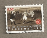 Stamps Europe - Luxembourg -  100 Años futbol Letzebuerg
