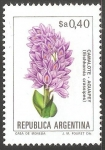Sellos de America - Argentina -  Camalote aguapey