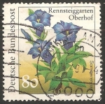 Stamps Germany -  Gentiana