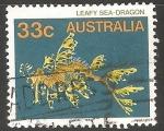 Sellos de Oceania - Australia -  Leafy Seadragon