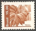 Stamps Brazil -  Banana