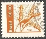 Stamps Brazil -  Trigo