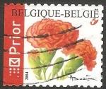 sello : Europa : Bélgica : Clavel rojo