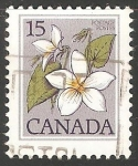 Stamps Canada -  Flores