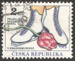 Sellos del Mundo : Europa : República_Checa : Campeonato Mundial de Patinaje Artístico 1993