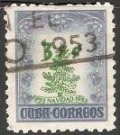 Sellos de America - Cuba -  Navidad 1952-1953