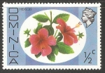 Stamps Dominica -  Flores