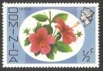 Sellos del Mundo : America : Dominica : Flores