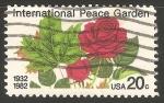 Sellos de America - Estados Unidos -  Jardín Internacional de la Paz)