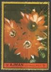 Stamps United Arab Emirates -  Ajman flores