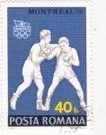 Sellos de Europa - Rumania -  Montreal-76