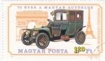 Stamps Hungary -  coche de epoca
