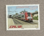 Stamps Luxembourg -  50 Años electrificación Trenes