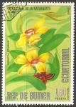 Stamps Equatorial Guinea -   Hibbertia VOLUBILIS
