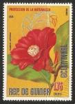 Sellos de Africa - Guinea Ecuatorial -  Camelia japonica