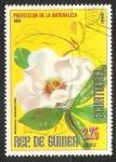 Sellos de Africa - Guinea Ecuatorial -  magnolia grandiflora