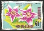 Sellos de Africa - Guinea Ecuatorial -  sesuvium edmonstonell