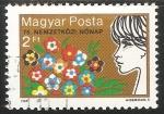 Sellos de Europa - Hungría -  Dia internacional de la mujer