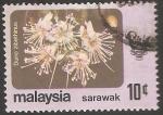 Sellos de Asia - Malasia -  Durio zibethinus