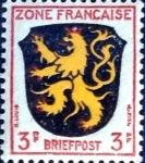 Sellos de Europa - Alemania -  Intercambio jxi 0,20 usd 3 pf. 1945