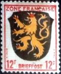 Stamps Germany -  Intercambio 0,20 usd 12 pf. 1945