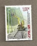 Stamps Luxembourg -  50 Años electrificación Trenes