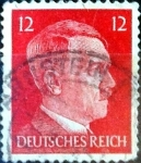 Stamps : Europe : Germany :  Intercambio agm2 0,20 usd 12 pf. 1941