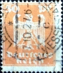 Stamps : Europe : Germany :  Intercambio agm2 1,00 usd 50 pf. 1924