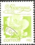 Sellos de America - Nicaragua -  Neomarica (iris, iris de apóstol o apóstol planta caminar - nombres también utilizados para el géner