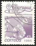 Stamps Nicaragua -  tabebula ochraceae