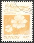 Sellos de America - Nicaragua -  Tagetes erecta-clavelón de la India