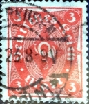 sello : Europa : Alemania : Intercambio mas 1,10 usd 3 M. 1921