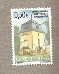 Stamps Luxembourg -  Torre de Dauwen, Sandweiler
