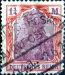 Sellos de Europa - Alemania -  Intercambio 1,00 usd 1,25 mark. 1920