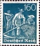 Stamps Germany -  Intercambio ma2s 0,20 usd 160 pf. 1921