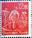 sello : Europa : Alemania : Intercambio mas 0,20 usd 12 mark.  1922