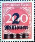 Sellos del Mundo : Europa : Alemania : Intercambio mas 0.20 usd 2000000m.s.200 m. 1923