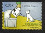 Stamps Spain -  Valores Cívicos