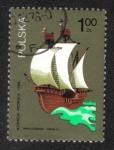 Stamps Poland -  Veleros polacos