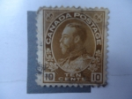 Stamps Canada -  King George V (Scott/Ca:118)