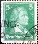 Sellos de Europa - Alemania -  Intercambio 0.20 usd 5 pf. 1927