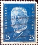 Stamps Germany -  Intercambio 0.50 usd 25 pf. 1928